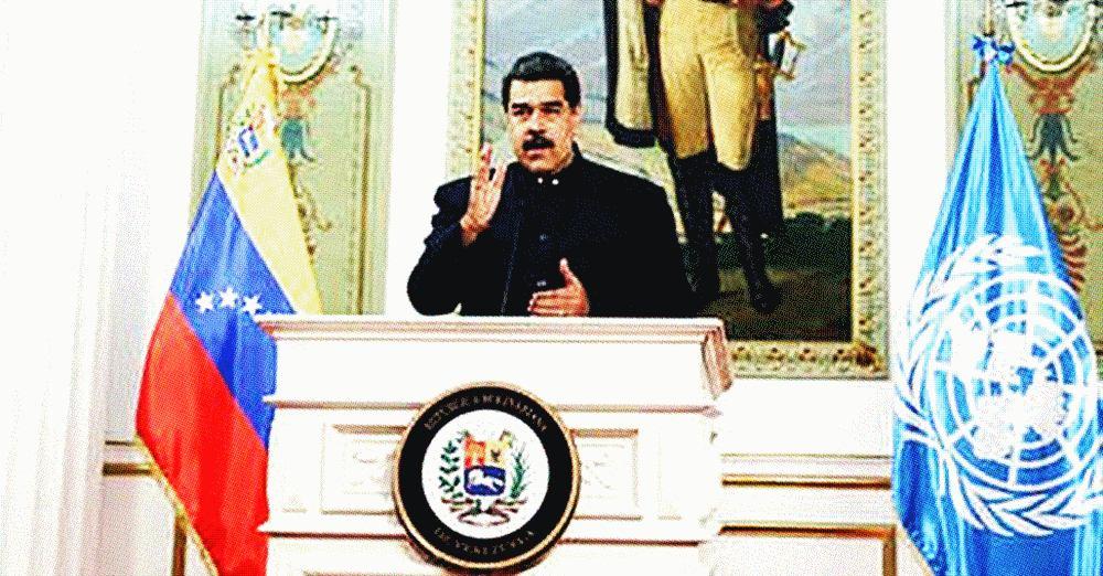 Maduro anuncia que a Venezuela desenvolveu medicamento 100% eficaz contra o coronavírus