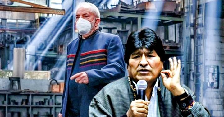"""""""Como fica bem em você!"""", diz Evo Morales sobre jaqueta que deu a LULA"""