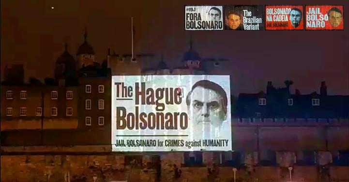 [Vídeo] Londres pede Tribunal Penal Internacional e cadeia para Bolsonaro