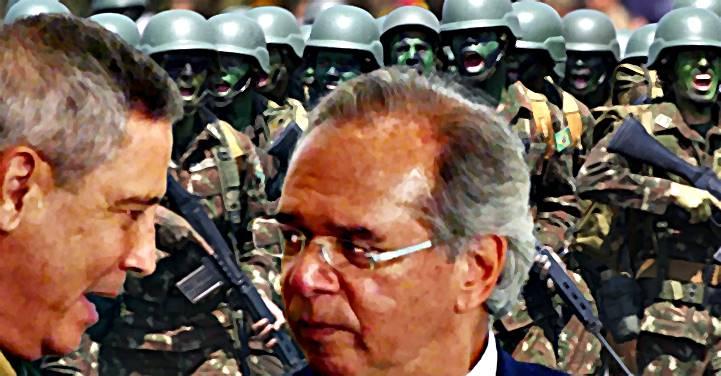 Guedes propõe R$ 10,4 bi para Defesa em 2022, mas Braga Netto quer R$ 18,8 bi