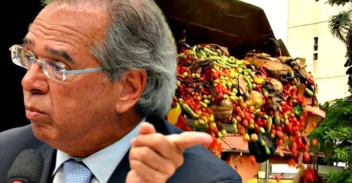 """Contra a fome, Guedes defende dar """"resto de comida"""" aos pobres"""