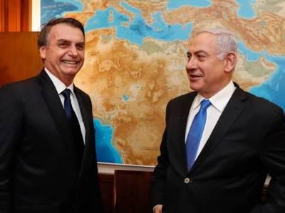 Presidente Jair Bolsonaro e primeiro-ministro de Israel, Benjamin Netanyahu Foto: Alan Santos/PR
