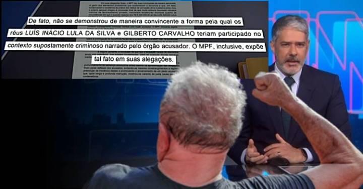 JN explica acusação SEM PROVA feita pelo MPF que levou a mais outra ABSOLVIÇÃO de LULA