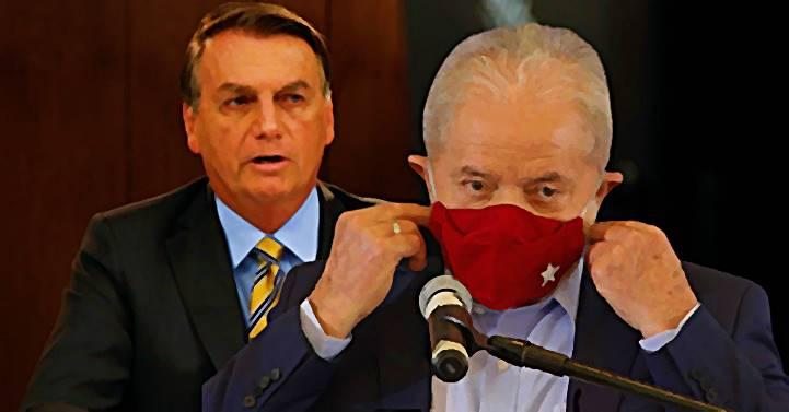 """""""No placar aqui de casa… está SEIS votos para o LULA e ZERO para o genocida"""", diz o ex-presidente"""