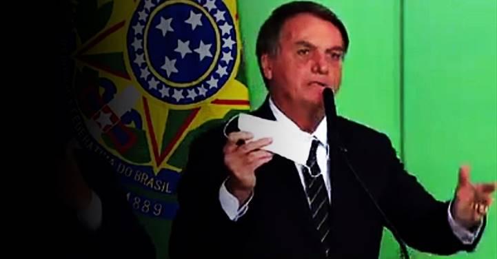 Especialistas contestam Bolsonaro sobre desobrigar máscara por imunizados e por quem já teve Covid