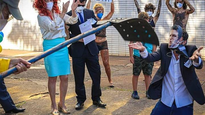 Dia Mundial do Meio Ambiente teve protestos contra Bolsonaro e Salles