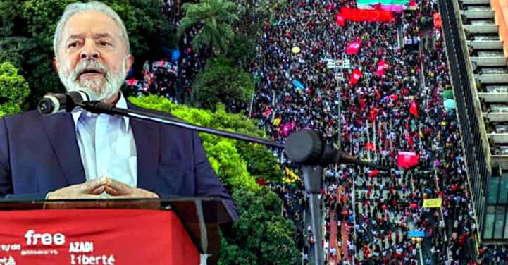 Lula pensa em participar do ato '19J' no sábado